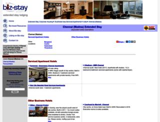 chennai.biz-stay.com screenshot