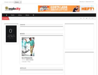 chennai.explocity.com screenshot
