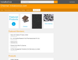 chennai.indiabizclub.com screenshot