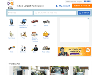 chennai.olx.in screenshot