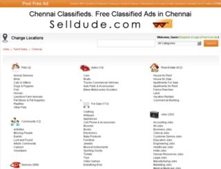 chennai.selldude.com screenshot