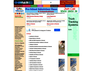 chennaibizz.com screenshot