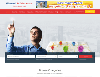 chennaibuilders.com screenshot