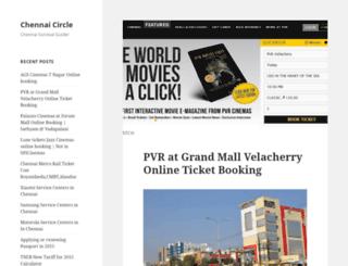chennaicircle.com screenshot