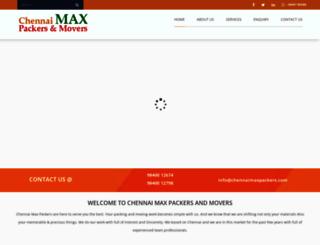 chennaimaxpackers.com screenshot
