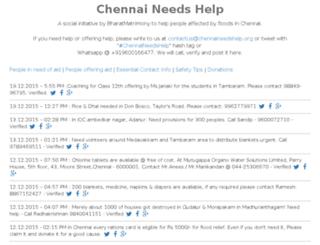 chennaineedshelp.org screenshot