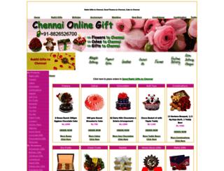 chennaionlinegifts.com screenshot