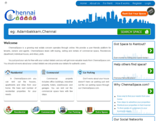 chennaispace.com screenshot