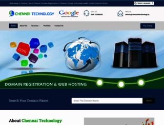 chennaitechnology.in screenshot