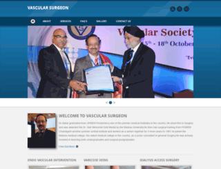 chennaivascularsurgeon.com screenshot