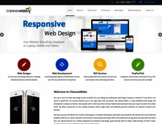 chennaiwebs.com screenshot