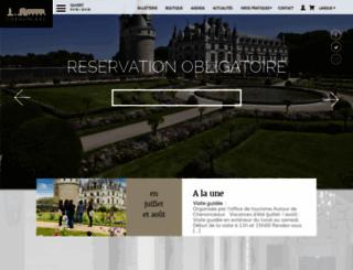 chenonceau.com screenshot
