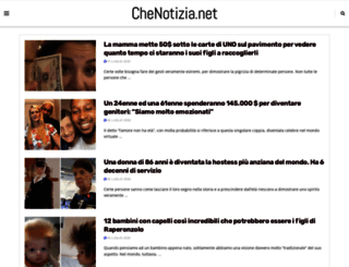 chenotizia.net screenshot