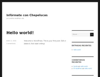chepelucasweb.com screenshot