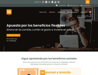 cheque-dejeuner.es screenshot
