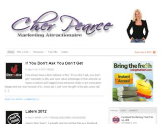 cher-pearce.com screenshot
