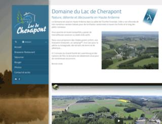 cherapont.be screenshot