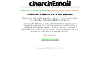 cherchemail.free.fr screenshot