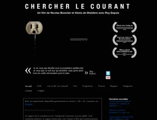 chercherlecourant.com screenshot