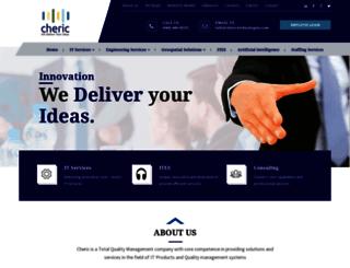 cherictechnologies.com screenshot