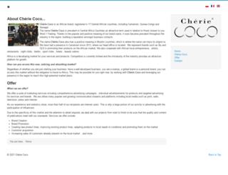 cherie-coco.com screenshot