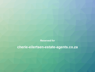 cherie-eilertsen-estate-agents.co.za screenshot