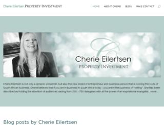 cherie-eilertsen-property-investment.co.za screenshot