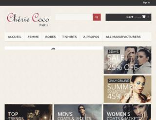 cheriecoco.com screenshot