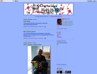 cheriseward.blogspot.com screenshot