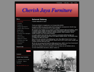 cherish-jaya-furniture.com screenshot