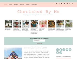 cherishedbyme.com screenshot