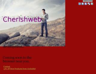 cherishweb.com screenshot