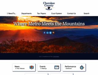 cherokeega.com screenshot