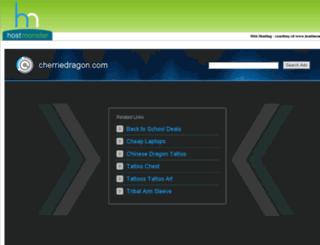 cherriedragon.com screenshot
