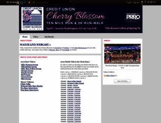 cherryblossom.runnerspace.com screenshot
