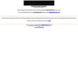 cherrycola.com screenshot