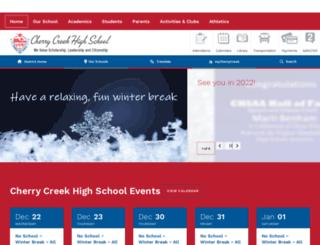 cherrycreek.cherrycreekschools.org screenshot