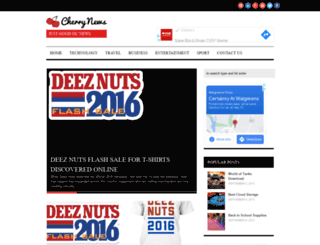 cherrynews.com screenshot