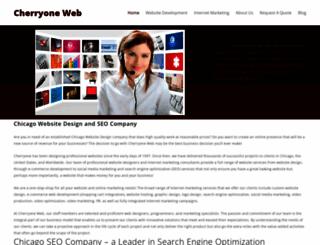 cherryoneweb.com screenshot