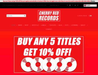 cherryred.co.uk screenshot