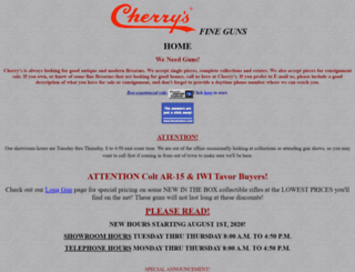 cherrys.com screenshot