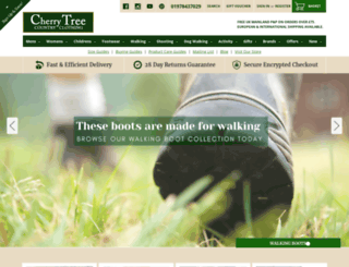 cherrytreecountryclothing.com screenshot