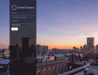 cherwellsoftware.clearcompany.com screenshot