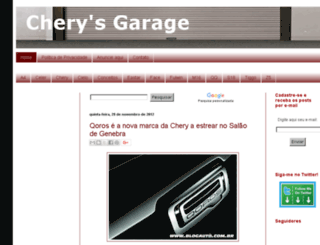 cherysgarage.blogspot.com screenshot