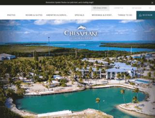 chesapeake-resort.com screenshot