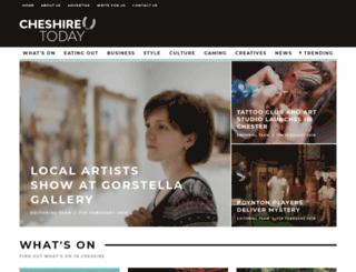 cheshire-today.co.uk screenshot