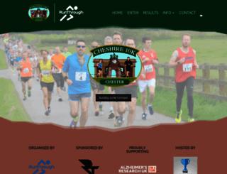 cheshire10k.com screenshot