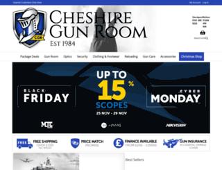 cheshiregunroom.com screenshot
