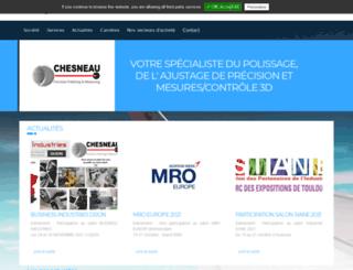 chesneau-sas.com screenshot