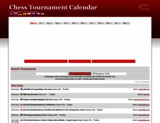 chess-calendar.eu screenshot